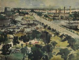 Lot 18-Lee-Choon-kee,-2012,-Watercolour-on-paper,-51.5-x-75cm-