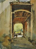 Lot 21-Ong-Kim-Seng-38-x-28-cm,-Watercolour-on-paper-RM-6,000---8,000