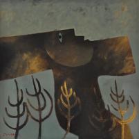 Lot 25-Khoo-Sui-Hoe,-Wind-Dance,-2002,-Oil-on-canvas,-80-x-80-cm