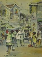 Lot 26-Tan-Choon-Ghee,-1985,-Watercolour-on-paper,-32-x-22.5cm