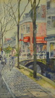 Lot 27-Tan-Choon-Ghee,-1999,-Watercolour-on-paper,-36.5-x-20cm