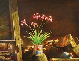 Lot 63-Lye-Yau-Fatt-Resting,-2010-Oil-on-canvas-69.5-x-90.5-cm