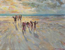 Lot 79-Khalil-Ibrahim-Xxxxx,-1982-Watercolour-on-paper-27-x-35-cm