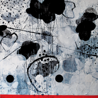 Lot 37-Mohd-Jamil---'Camouflage-Series'-2013,-acrylic-on-canvas,-155-x-155cm
