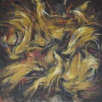 Lot 48-Yusof-Ghani-'Biring-LXX'-(2007)-Oil-on-Canvas-183cm-x-183cm1