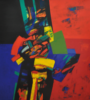 Lot 5-Sharifah-Fatimah-Zubir,-Dato-'Song-of-Longing'-(2008)-82cm-x-74cm-Acrylic-on-Canvas-RM-36,000