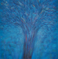 Lot 50-Nizar-Kamal-Ariffin-(2012)-Siri-Pohon-Beringin---Tumbuh,-137-x-137,-Acrylic-on-Canvas