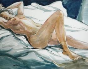 30-Sweet Dream, 2008 56cm x 76cm 2008 Watercolour on Paper