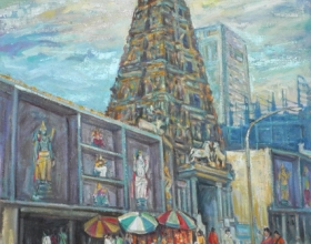 31-Temple Kuala Lumpur, 1999 80cm x 70cm Oil on Canvas