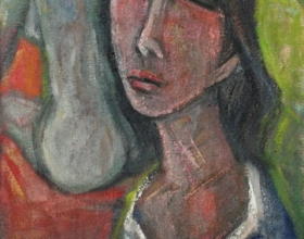 36-Young Girl, 2011 51cm x 39cm 2011 Oil on Canvas