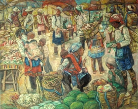 37-Yuan Ying 3 (China), Undated 134cm x 162cm Oil on Canvas