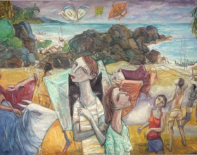5-Beautyful Day, 2010 140cm x 240cm 2010 Oil on Canvas