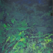 Study for Fly me to the Moon, 2007 RM 9,900.00-SOLD | Oil on canvas | 138 x 61 cm