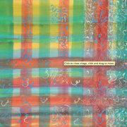 1-Calligraphy in Checked, 1993 RM 30,800-SOLD | Acrylic on canvas | 91 x 91 cm