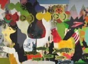 6-Untitled, 2005 RM 20,000.00 - RM 38,000.00 | Mixed media and collage on canvas | 120 x 300 cm