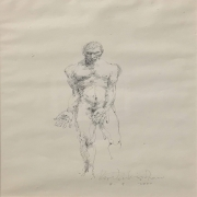 1_Ahmad-Zakii-Anwar-Nude-Figure-Sketch-2000-Ink-on-paper-40-x-29-cm-1