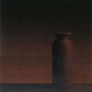 7-Bottle, 1992 RM 18,700.00-SOLD   Acrylic on paper   48 x 45 cm