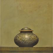 6-Vase, 2000 RM 24,200.00-SOLD | Acrylic on canvas | 43 x 43 cm
