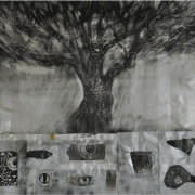 1-Payung,-2008-RM-7,000.00---RM-15,000.00-_-Mixed-media-_-100-x-120-cm