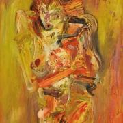 1-Untitled, 1993 RM 4,300 - RM 6,000-AVAILABLE | Acrylic on canvas | 70.3 x 45 cm