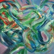 83-Aswad-Amier,-2006,-Acrylic-on-canvas,-91-x-111.5cm
