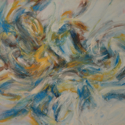 40-Aswadd-Amier,-Di-Tamba-Cahaya,-2005,Acrylic-on-canvas,-91-x-112-cm