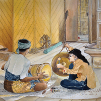 14-Nik-Zainal-Abidin,-1978,-Watercolour-on-paper,-38-x-43.5cm