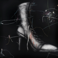 30-Fendy-Zakri,-Identity-Crisis-1,-2012,-Acrylic-on-canvas,-152-x-152cm