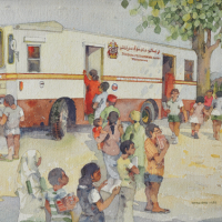 56-Tan-Choon-Ghee,-1984,-Watercolour-on-paper,-32.5-x-37cm