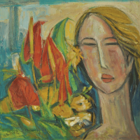 83-Tew-Nai-Tong,-Oil-on-canvas,-51.5-x-51.5cm(1)
