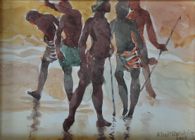 76-Khalil-Ibrahim,-2005,-Watercolour-on-paper,-20-x-29cm