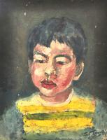 79-Chuah-Siew-Teng,-1975,-Oil-on-canvas,-38-x-28.5cm