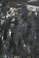 Najib-Ahmad,-Black,-2008,-Oil-and-Bitumen-on-canvas,-68.5-x-46