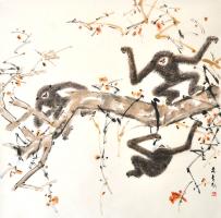 47-Chen-Wen-Si,-Ink-on-paper,-68-x-69cm
