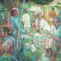 5-Tew-Nai-Tong-'Ubud-Fruits-Corner'-(2006)-90cm-x-90cm-Oil-on-Canvas-RM-12,000---18,000-April-2013