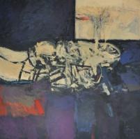 58-Tajuddin-Ismail,-2001,-Mixed-media-on-canvas,-173-x-173cm