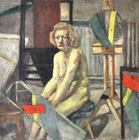 74-Chuah-Siew-Teng,-1966,-Oil-on-canvas,-60.5-x-60.5cm