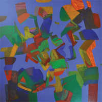 8-Sharifah-Fatimah-Bluescape-(1992)-Acrylic-on-canvas-100-x-110cm