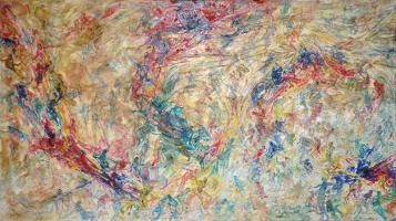 Yusof-Ghani-Siri-Tari-Lambak-I,-1990-91-x-163-cm