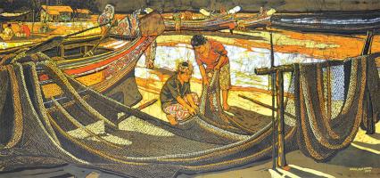 16-Ismail-Mat-Hussin-'Pantai-Sabak'-(2010)-75.5cm-x-158.5cm-RM-3500---6,500