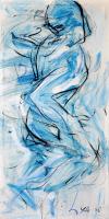 33-Yusof-Ghani-Siri-Segerak-(2),-2005-Mixed-media-on-canvas-51-x-25.5-cm