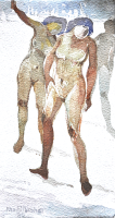 80-Khalil-Ibrahim-'Nude-In-Motion'-(1980)-Watercolour-on-Paper,-15cm-x-28cm-RM-2,500----3,500