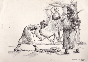 20-Ismail-Mat-Hussin-'Two-Farmers',-1986-(3),-Pen-on-paper,-21-x-29.5-cm-RM-1,200---2,500-