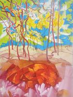 45-RSA-Woods-2012-Acrylic-on-canvas-119-x-90-cm