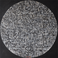 46-Nizar-Kamal-Ariffin-Balang-Series---'Dunia-Berbisik-#5'Acrylic-on-canvas-152.5-x-152.5-cm