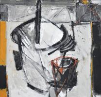 67-Awang-Damit-Ahmad-'Sketsa-Iraga-V'-(2004)-Mixed-Media-on-canvas,-61-x-61-cm,-