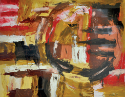 7-Bhanu-Achan-_Abstract-Landscape-3_-(2011)-Oil-on-Paper-54.5cm-x-67cm-RM-1,800---3,500