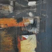 1-Marista Sketsa Series, 1999 RM 3,850.00-SOLD | Mixed media on canvas | 46 x 46 cm