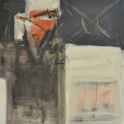 "16-Marista ""Belatak"", 2000 RM 20,900.00-SOLD | Mixed media on canvas | 100 x 107 cm"