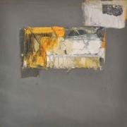 "17-Iraga, ""Perjalanan Utara, Monument I"", 2009 RM 26,400-SOLD | Mixed media on canvas | 100 x 100 cm"